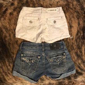 LA idol & miss me shorts